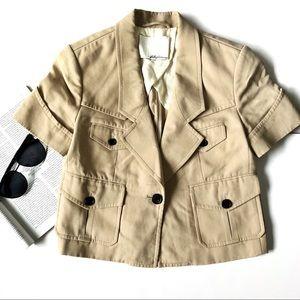 [3.1 Phillip Lim] Four Pocket Short Sleeve Blazer